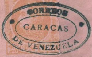 Matasello falso de Caracas