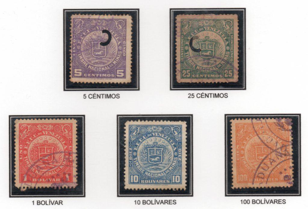 Serie Timbre Nacional de Minas