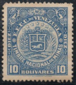 Timbre Nacional de Minas