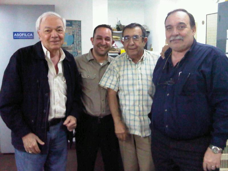 Moratti, Blanco, Meri y Castillo
